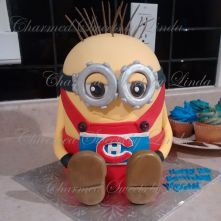 minion cake copy